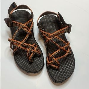 Chaco Orange Z Cloud x2 Orange 7